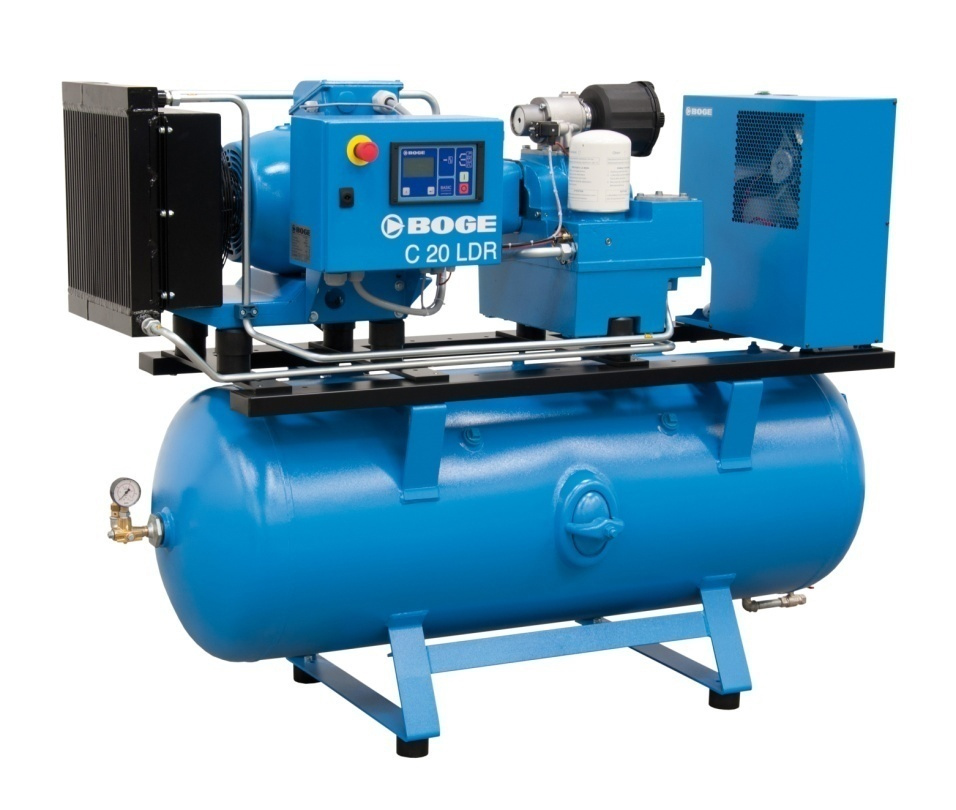 Dòng máy trục vít BOGE Công suất: 4-20 HP