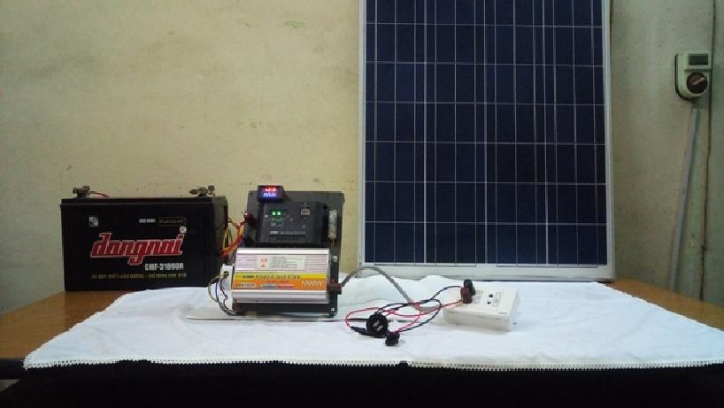 Bộ phát điện mặt trời thực tế